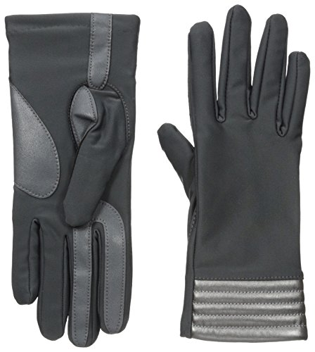 Isotoner-Womens-Smartouch-Spandex-Glove-with-Metallic-Hem-Thermaflex-Lining
