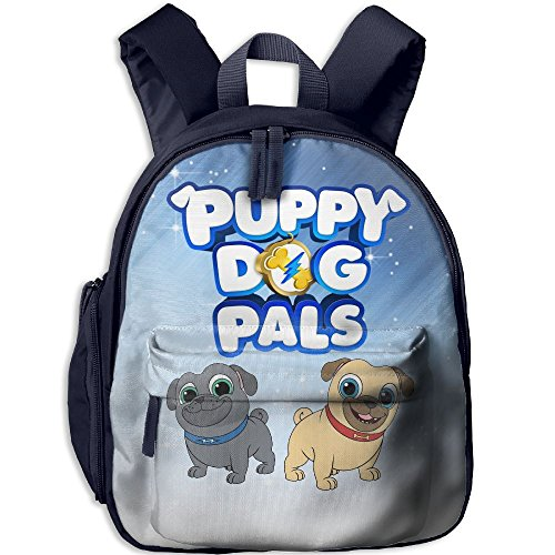 Ssuac Yi66 Puppy Dog Lovely Pals Unisex Kids Novelty Children Backpack School Travel Shoulder Bags Navy ()
