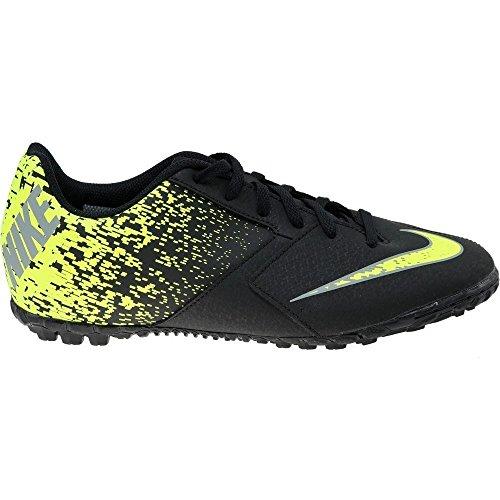 Nike 826486-310, Botas de Fútbol Hombre Negro (Black/Cool Grey-Volt)