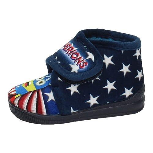 MORANCHEL 14786 Botitas Minions NIÑO Zapatillas CASA Marino 22: Amazon.es: Zapatos y complementos
