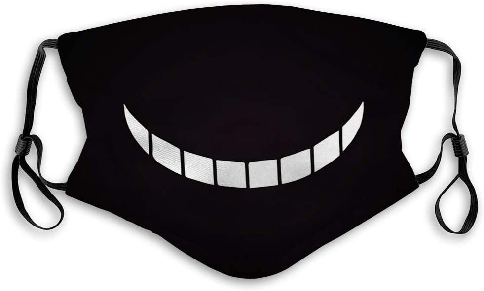 Cubierta Decorativa Ajustable, Cubierta Scraf Smile Cheshire Cat Halloween Blanco Negro Degradado