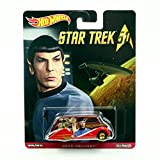 DECO DELIVERY * Star Trek / Commander Spock * Hot Wheels 2015 Pop Culture Star Trek 50th Anniversary Series Die-Cast Vehicle