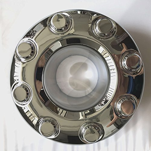 1PCS 2005-2016 Ford F-350 F350 Dually FRONT 4X4 Open Chrome Wheel Center Hub Cap Replaces OEM 5C3Z1130TA (F350 Wheels Ford)