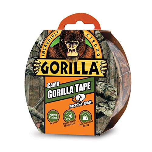 (Gorilla Tape, Camo Duct Tape, 1.88