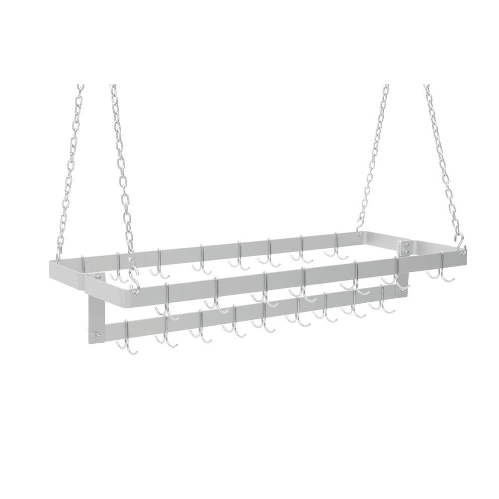 H. A. Sparke Ceiling-Type Pot & Pan Rack 21'' Wide (48'') by H.A. Sparke
