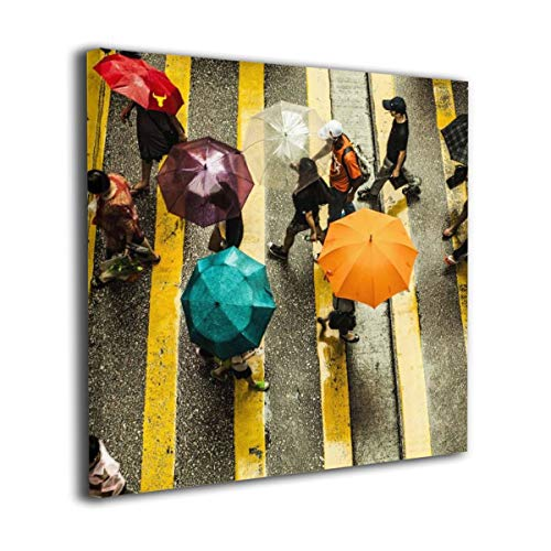 Baohuju Best Things To Do In Hong Kong On A Rainy Day Canvas Wall Pictures Contemporary Artwork Home Decor For Living Room Bedroom Bathroom 24