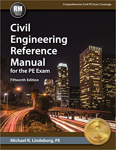 Pdf Engineering Civil Engineering Reference Manual for the PE Exam, 15th Ed