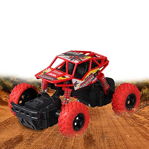 Suhero Pull Back Vehicles 4 WD Off Road Vehicle Monster Trucks for Boys, Friction Toy Trucks Inertia Car Toys Bigfoot Monster Truck Kids Toys for 3 Year Old Boys