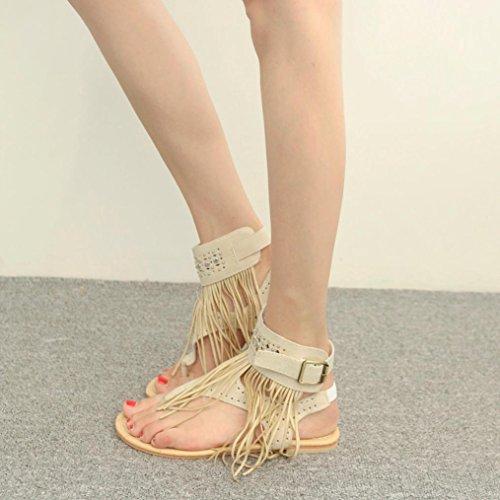 de sandalias flops florales planas sandalias impresas de las Sandalias de de flip azules los playa mujeres wBwqSR4x