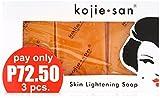 Kojie San Orange Whitening Soap, 3 x 65 g