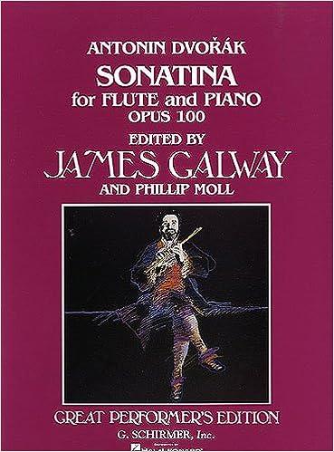 DVORAK - Sonatina Op.100 en Sol Mayor para Flauta y Piano ...