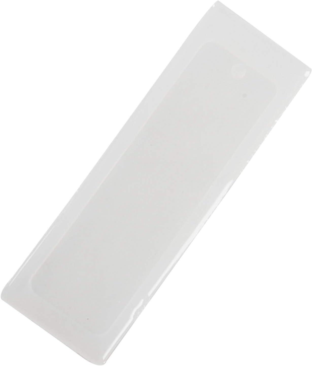 Marcador de DIY Fabricacion de Resina de Resina epoxi Molde Artesanal de Silicona Molde Transparente LQNB Molde del Marcador del Silicon del rectangulo de 2 PC//Set