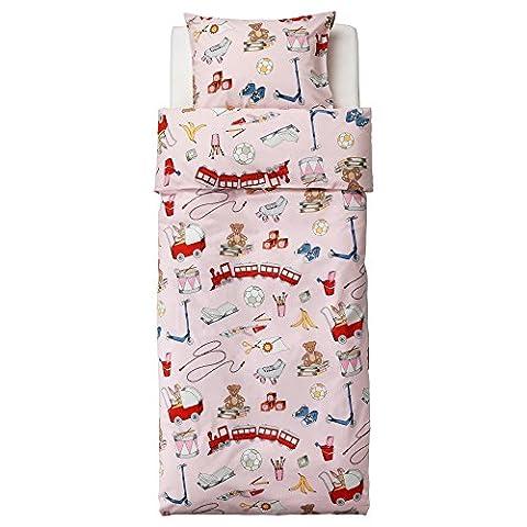 Ikea Lekrum Duvet Cover and Pillowcase, Twin (Ikea Twin Bedding)