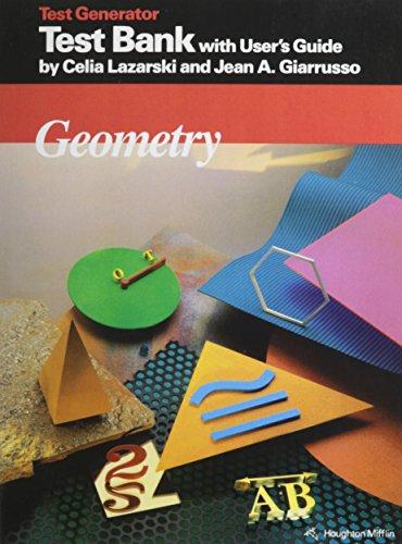 McDougal Littell Jurgensen Geometry: Test Bank and User Guide Geometry