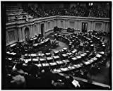 8x12 inch Photographic Print from a high-quality scan of the original.Title: Gen'l. view of Senate in session hearing Hopkins Confirmation, 1/20/39 Creator(s): Harris & Ewing, photographer Date Created/Published: 1939 January 20. Notes: Title fro...