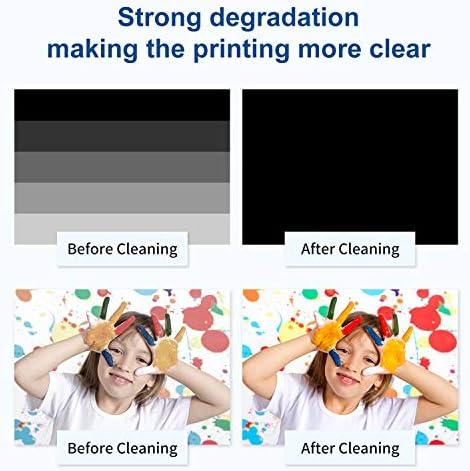 WOKOK Printhead Cleaner Kit | Printhead Cleaning Kit | for Inkjet Printers HP/Brother/Epson/Canon WF-7710 WF-3640 7620 8600 8610 8620 WF-2750 WF-2650 ET-2750 ET-2650 C88 Liquid Printers Nozzle(100ml)
