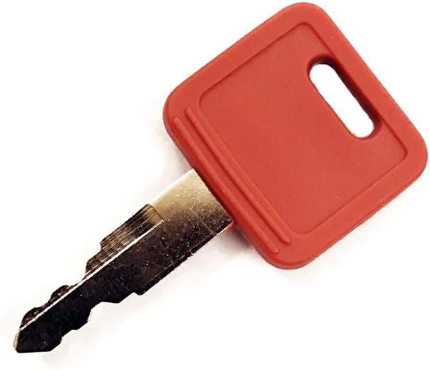 10 PCS Compatible with H800 Keys for Hitachi John Deere Excavator Case Dozer Fiat New Holland AT194969 AT147803