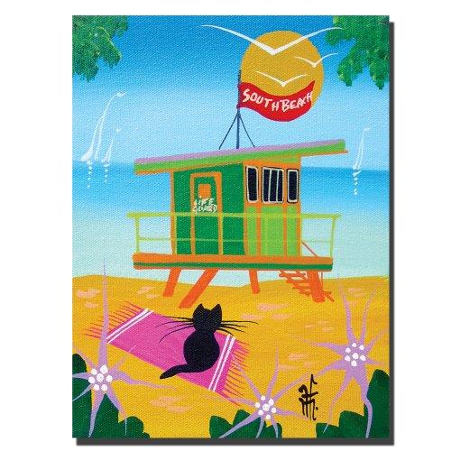 trademark-fine-art-life-guard-by-herbert-hofer-canvas-wall-art-24x32-inch
