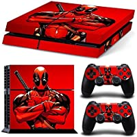 Elton Dead-pool King Theme 3M Skin Sticker Cover for PS4 Console and Controllers