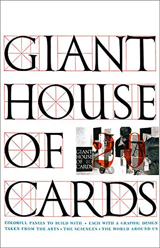 Giant Eames House of Cards by Eames Office -