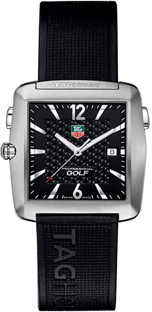 27f374ff336 Amazon.com  TAG Heuer Men s WAE1111.FT6004 Professional Golf Watch  Tag  Heuer  Watches