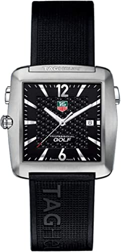 FT6004 - Reloj para Hombres, Correa de Silicona: Tag Heuer: Amazon.es: Relojes