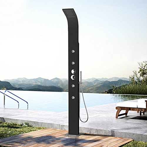No Worries Products 316 Panel de Ducha de Acero Inoxidable ...