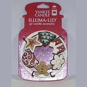 Amazon.com: Yankee Candle Cookies Illuma-Lid Jar Candle ...