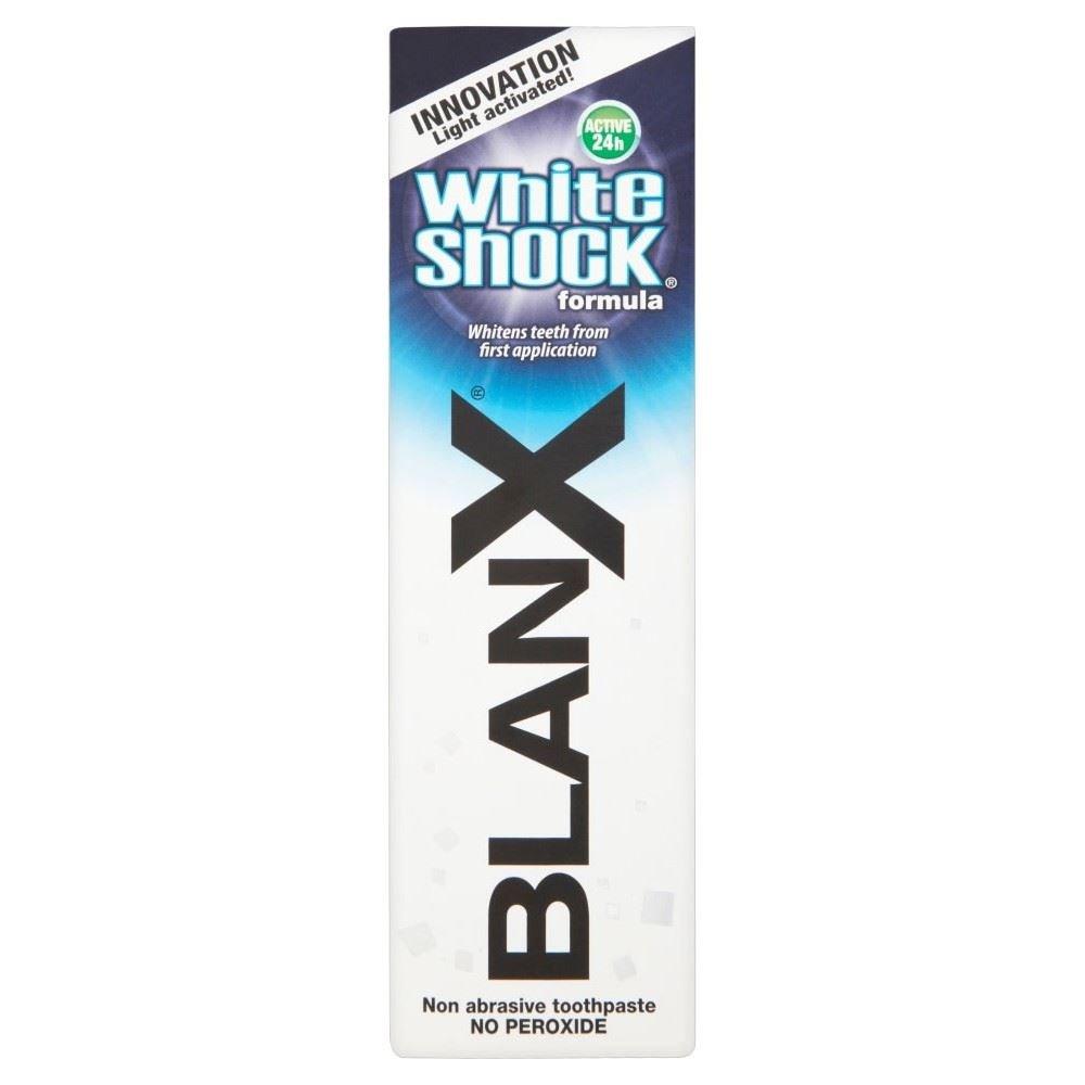 Blanx White Shock Formula Non Abrasive Toothpaste (75ml) - Pack of 2