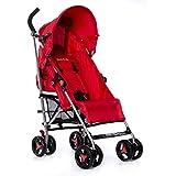 Dream On Me Verona Lightweight Stroller, Red, 13.5 Pound