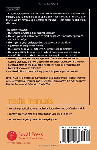 TV Technical Operations: An introduction (Media Manuals)