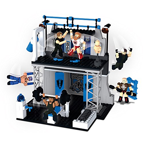 The Bridge Direct WWE StackDown: The Shield Tactical Training Center Play Set with (Wwe Shields)
