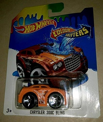 HOT WHEELS COLOUR SHIFTERS CHRYSLER 300C BLING 2015 - RARE by Hot Wheels -