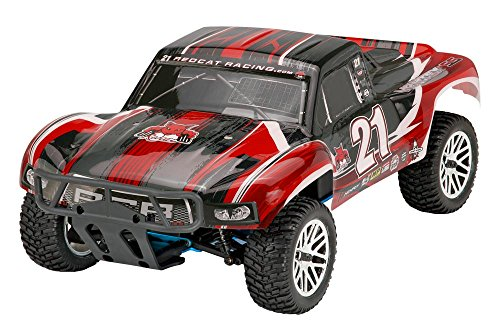 Redcat Racing Nitro Vortex SS Rally Truck with 2.4 GHz Radio (1/10 Scale), Red - Rc Nitro Racing Truck