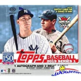 2019 Topps Series 1 MLB Baseball ENORMOUS HTA HOBBY Factory Sealed JUMBO Box with 460 Cards & THREE(3) AUTOGRAPH or RELIC Cards! Absolutely Loaded with ROOKIES, AWESOME INSERTS & PARALLELS! WOWZZER!
