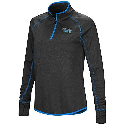 Colosseum Womens UCLA Bruins Quarter Zip Long Sleeve Shirt - XL 093d01559f