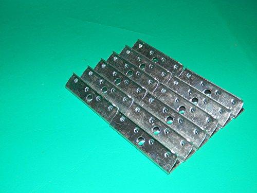 10PC WEBBING CLIPS SELIG DENMARK DANISH CHAIR EAMES - Tubular Cam Lock 5 8