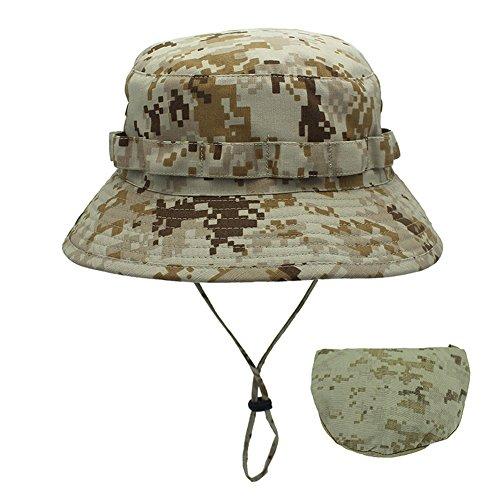 価値全くマッシュ釣り帽子 アウトドア帽子 迷彩 登山 ハイキング つば広 折りたたみ ブーニハット 狩猟 日よけ 収納便利 調整可 メンズ グレー