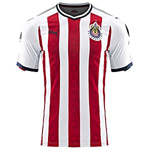 PUMA Men's Chivas Promo Home Jersey 17/18 Red/White (L)