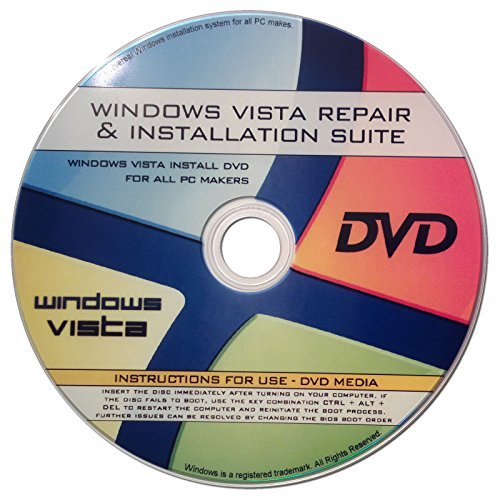 Recovery, Reinstallation, & Repair of All Windows Vista Editions [All In One 32/64bit] [2017 latest update release]