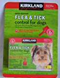 Kirkland Signature 6-month Water Resistant Flea & Tick Control for Small Dogs,6-12 Lbs
