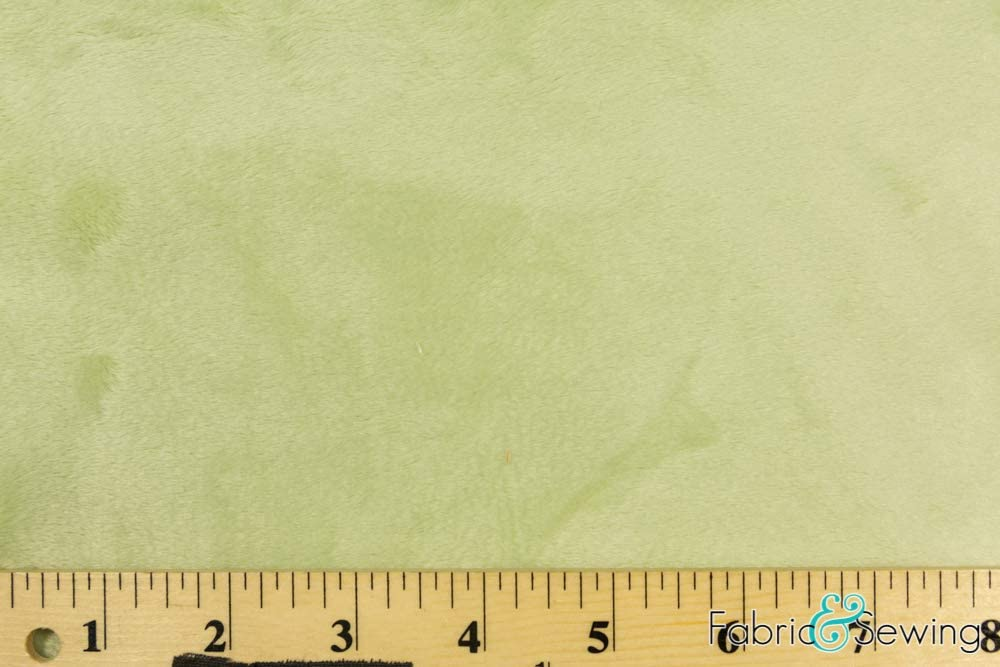Dusty Green Minky Smooth Soft Solid Plush Faux Fake Fur Fabric Polyester 14 oz 58-60