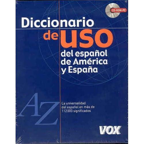 Diccionario de uso del español de América y España (CD rom) (Spes)