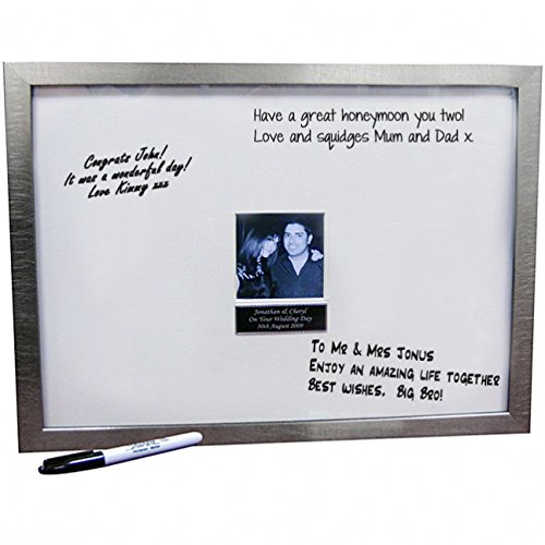 Personalised Message Frame And Pen Amazon Kitchen Home