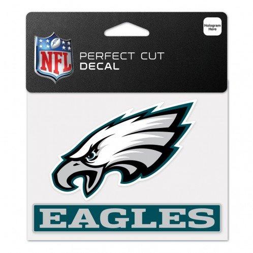 Wincraft Philadelphia Eagles Decal - WinCraft NFL Philadelphia Eagles WCR48649014 Perfect Cut Color Decal, 4.5