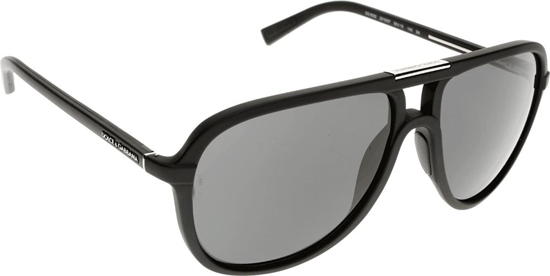730c8a1b39 30%OFF Dolce and Gabbana 6092 261687 Black 6092 Aviator Sunglasses Lens  Category 3 Len