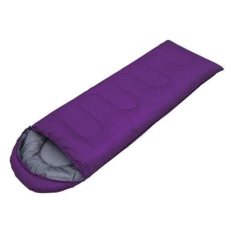 WeAreAwesome Saco de dormir diferentes colores Saco de dormir de festival Camping Festival - lila