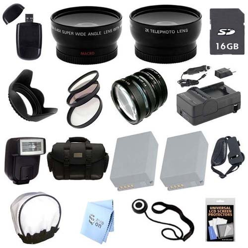 Advanced Professional Kit: for Canon Powershot G10, G11, G12 Cameras by Promax