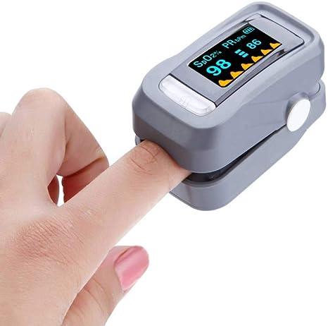 medidor de frecuencia card/íaca port/átil de saturaci/ón de ox/ígeno medidor de ox/ígeno con Pulso de Dedo ELECT Pulsiox/ímetro de Dedo con Alarma esfigmoman/ómetro