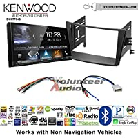Volunteer Audio Kenwood DMX7704S Double Din Radio Install Kit with Apple CarPlay Android Auto Bluetooth Fits 2010-2014 Subaru Legacy, Outback